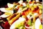 entrées salade et hors d'oeuvres