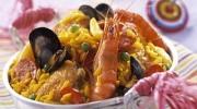 Paella au fruit de mer