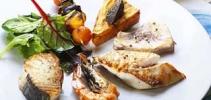 Poisson Saumon Grillées