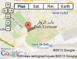 Localisation Restaurant Rahet El Bal Alger